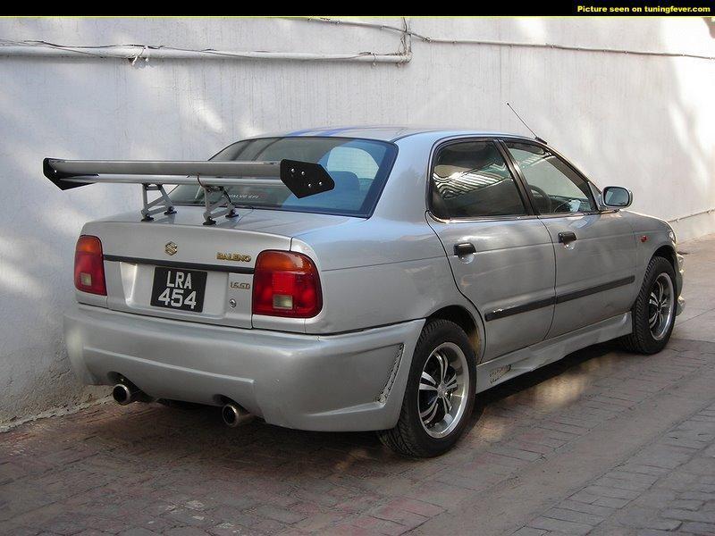 1999 Suzuki Baleno Wagon 1.8 GLX related infomation ...